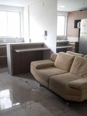 Flat de 37,00m²,  para alugar