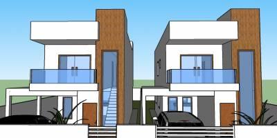 Casa de 125,00m²,  à venda