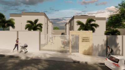 Casa em condomínio de 90,00m²,  à venda