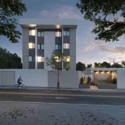Apartamento de 51,44m²,  à venda