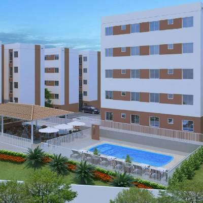 Apartamento de 40,64m²,  à venda