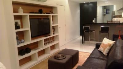 Flat de 60,00m²,  para alugar